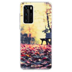 Plastové pouzdro iSaprio - Bench 01 - na mobil Huawei P40