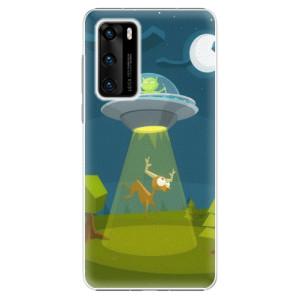 Plastové pouzdro iSaprio - Alien 01 - na mobil Huawei P40