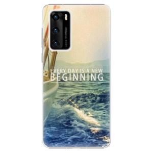 Plastové pouzdro iSaprio - Beginning - na mobil Huawei P40