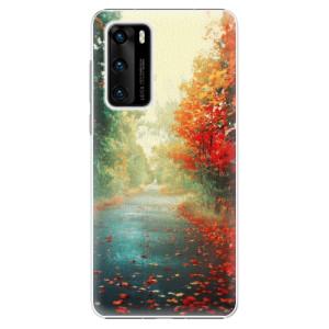 Plastové pouzdro iSaprio - Autumn 03 - na mobil Huawei P40