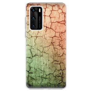 Plastové pouzdro iSaprio - Cracked Wall 01 - na mobil Huawei P40