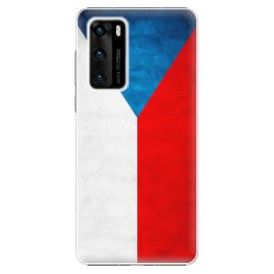 Plastové pouzdro iSaprio - Czech Flag - na mobil Huawei P40