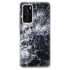 Plastové pouzdro iSaprio - Cracked - na mobil Huawei P40