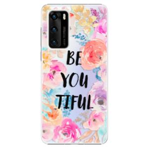 Plastové pouzdro iSaprio - BeYouTiful - na mobil Huawei P40