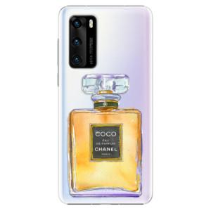 Plastové pouzdro iSaprio - Chanel Gold - na mobil Huawei P40