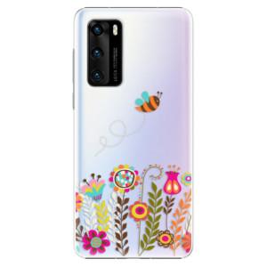 Plastové pouzdro iSaprio - Bee 01 - na mobil Huawei P40