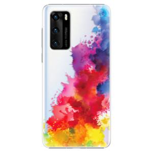 Plastové pouzdro iSaprio - Color Splash 01 - na mobil Huawei P40
