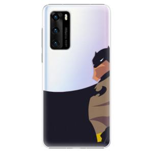 Plastové pouzdro iSaprio - BaT Comics - na mobil Huawei P40