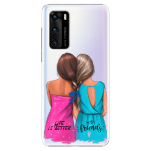 Plastové pouzdro iSaprio - Best Friends - na mobil Huawei P40