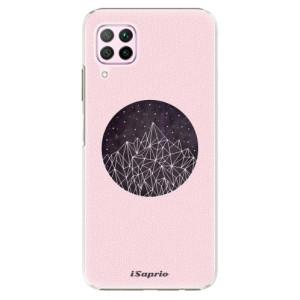 Plastové pouzdro iSaprio - Digital Mountains 10 - na mobil Huawei P40 Lite