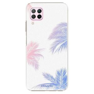 Plastové pouzdro iSaprio - Digital Palms 10 - na mobil Huawei P40 Lite