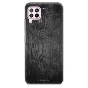 Plastové pouzdro iSaprio - Black Wood 13 - na mobil Huawei P40 Lite