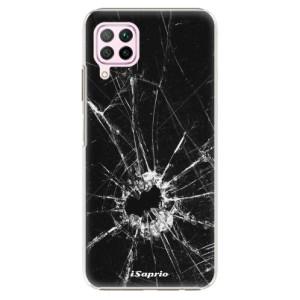 Plastové pouzdro iSaprio - Broken Glass 10 - na mobil Huawei P40 Lite