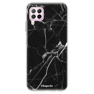 Plastové pouzdro iSaprio - Black Marble 18 - na mobil Huawei P40 Lite