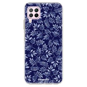 Plastové pouzdro iSaprio - Blue Leaves 05 - na mobil Huawei P40 Lite