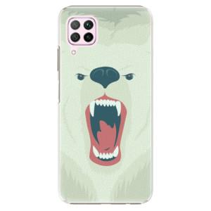 Plastové pouzdro iSaprio - Angry Bear - na mobil Huawei P40 Lite
