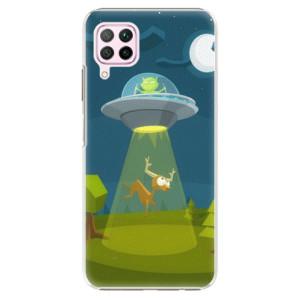 Plastové pouzdro iSaprio - Alien 01 - na mobil Huawei P40 Lite