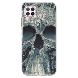 Plastové pouzdro iSaprio - Abstract Skull - na mobil Huawei P40 Lite