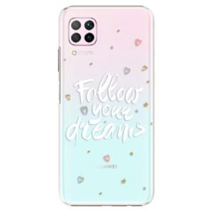 Plastové pouzdro iSaprio - Follow Your Dreams - white - na mobil Huawei P40 Lite