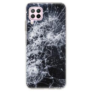 Plastové pouzdro iSaprio - Cracked - na mobil Huawei P40 Lite