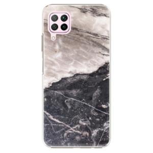 Plastové pouzdro iSaprio - BW Marble - na mobil Huawei P40 Lite