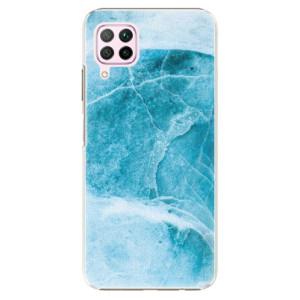 Plastové pouzdro iSaprio - Blue Marble - na mobil Huawei P40 Lite