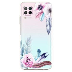 Plastové pouzdro iSaprio - Flower Pattern 04 - na mobil Huawei P40 Lite - výprodej