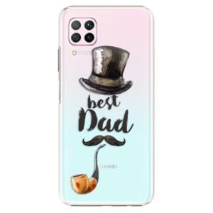 Plastové pouzdro iSaprio - Best Dad - na mobil Huawei P40 Lite