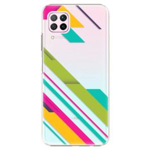 Plastové pouzdro iSaprio - Color Stripes 03 - na mobil Huawei P40 Lite