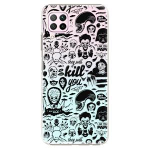 Plastové pouzdro iSaprio - Comics 01 - black - na mobil Huawei P40 Lite