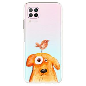 Plastové pouzdro iSaprio - Dog And Bird - na mobil Huawei P40 Lite