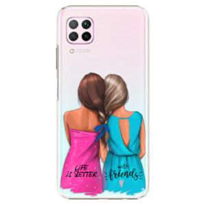 Plastové pouzdro iSaprio - Best Friends - na mobil Huawei P40 Lite