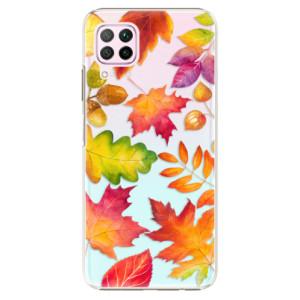Plastové pouzdro iSaprio - Autumn Leaves 01 - na mobil Huawei P40 Lite