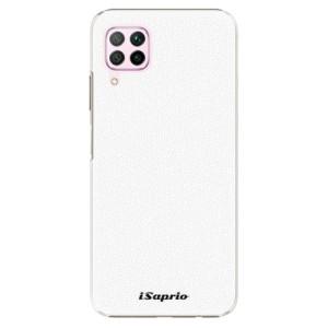 Plastové pouzdro iSaprio - 4Pure - bílé - na mobil Huawei P40 Lite