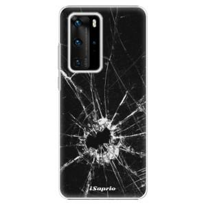Plastové pouzdro iSaprio - Broken Glass 10 - na mobil Huawei P40 Pro
