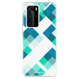 Plastové pouzdro iSaprio - Abstract Squares 11 - na mobil Huawei P40 Pro