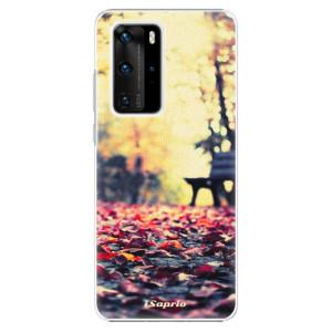 Plastové pouzdro iSaprio - Bench 01 - na mobil Huawei P40 Pro