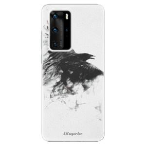 Plastové pouzdro iSaprio - Dark Bird 01 - na mobil Huawei P40 Pro