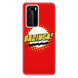 Plastové pouzdro iSaprio - Bazinga 01 - na mobil Huawei P40 Pro