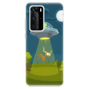 Plastové pouzdro iSaprio - Alien 01 - na mobil Huawei P40 Pro