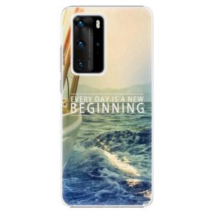 Plastové pouzdro iSaprio - Beginning - na mobil Huawei P40 Pro