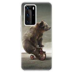 Plastové pouzdro iSaprio - Bear 01 - na mobil Huawei P40 Pro