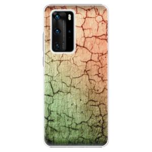 Plastové pouzdro iSaprio - Cracked Wall 01 - na mobil Huawei P40 Pro
