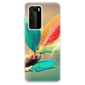 Plastové pouzdro iSaprio - Autumn 02 - na mobil Huawei P40 Pro