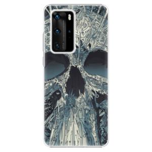 Plastové pouzdro iSaprio - Abstract Skull - na mobil Huawei P40 Pro