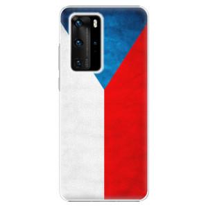 Plastové pouzdro iSaprio - Czech Flag - na mobil Huawei P40 Pro