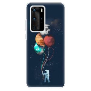 Plastové pouzdro iSaprio - Balloons 02 - na mobil Huawei P40 Pro