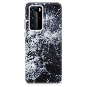 Plastové pouzdro iSaprio - Cracked - na mobil Huawei P40 Pro