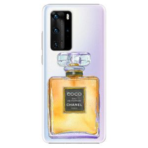 Plastové pouzdro iSaprio - Chanel Gold - na mobil Huawei P40 Pro