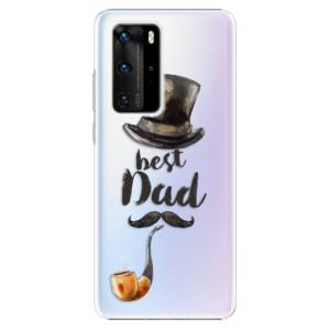 Plastové pouzdro iSaprio - Best Dad - na mobil Huawei P40 Pro